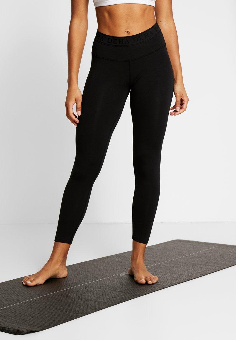 Deha - LEGGINGS - Legging - black