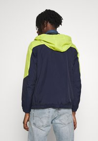 Jack & Jones - JCOSPRING LIGHT JACKET - Summer jacket - sulphur spring/maritime blue - 2