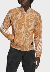 adidas Performance - FUTURE ICONS  - Training jacket - orange/white - 3