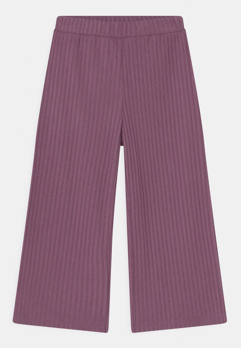 Lindex - MINI TROUSERS COSY  - Trousers - light dusty lilac