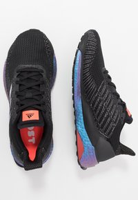 adidas Performance - SOLAR BOOST 19 - Chaussures de running neutres - core black/purple tint/solar red - 1