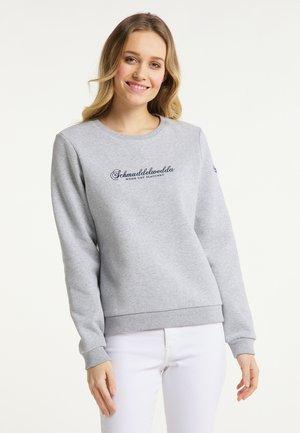 SWEATPULLOVER - Sweatshirt - hellgrau melange