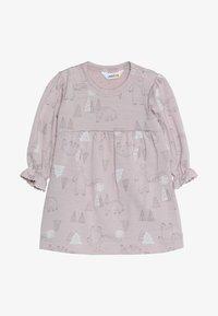 Joha - DRESS A-SHAPE - Jersey dress - light pink - 3