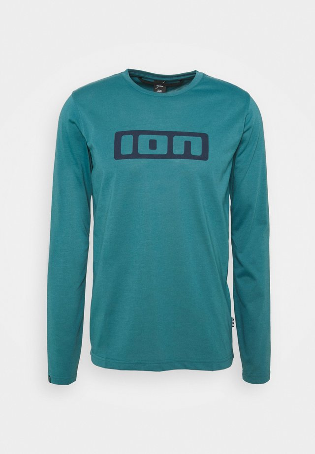 TEE SEEK - Langærmede T-shirts - laguna green