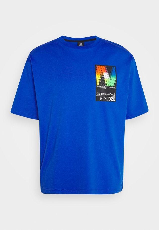 T-shirt imprimé - cobalt