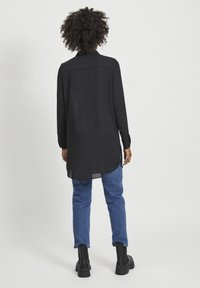 Vila - VILUCY NOOS - Button-down blouse - black - 2