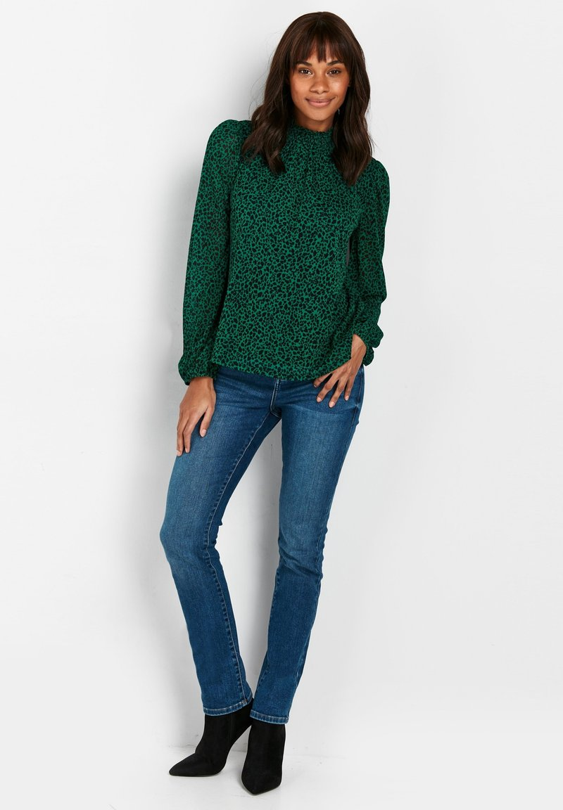 Wallis - Slim fit jeans - blue