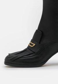 Alberta Ferretti - FRINGE BOOT - Boots - black - 6