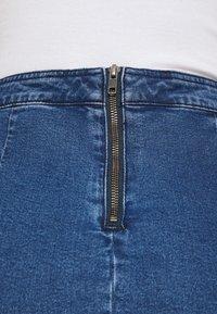 Noisy May - Mini skirt - medium blue denim - 5