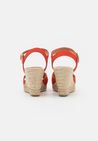 Minelli - Korkeakorkoiset sandaalit - coquelicot - 3