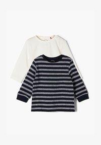 s.Oliver - PACK - Long sleeved top - black/white - 0