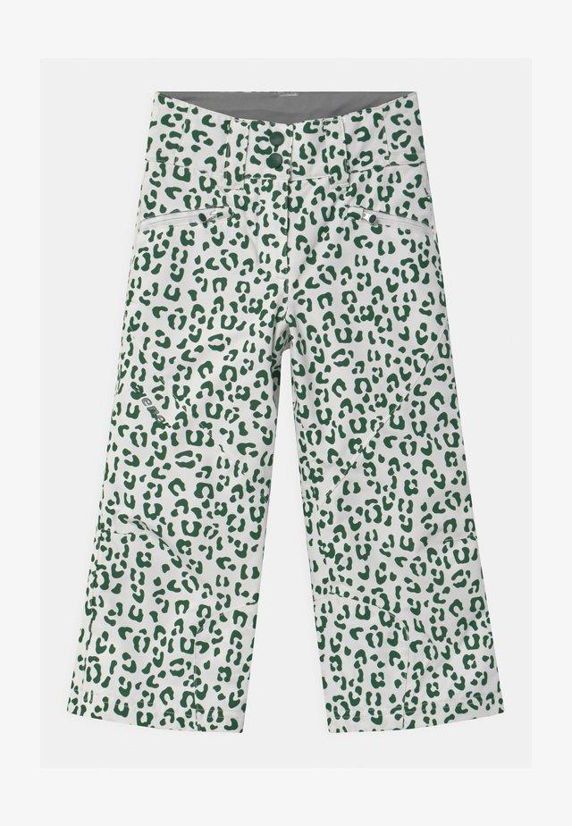 ALIN UNISEX - Snow pants - white