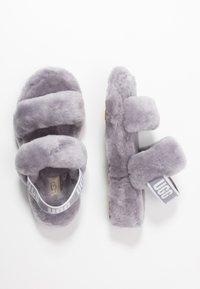 UGG - OH YEAH - Platform sandals - grey - 3