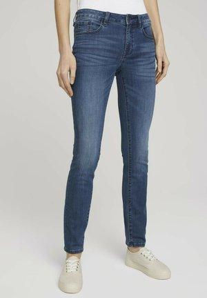 Slim fit jeans - used dark stone blue denim