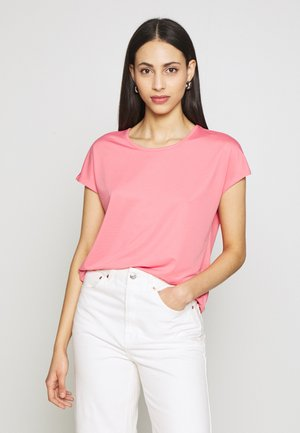 ONPMILEY LOOSE TRAINING TEE - Print T-shirt - strawberry pink/gold