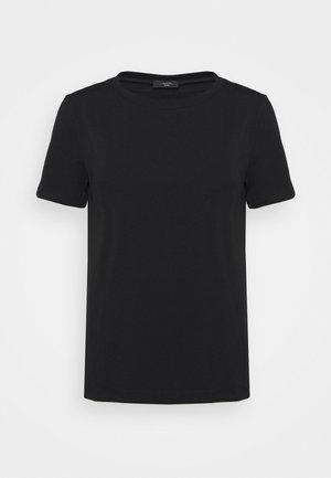MULTIB - Jednoduché triko - black