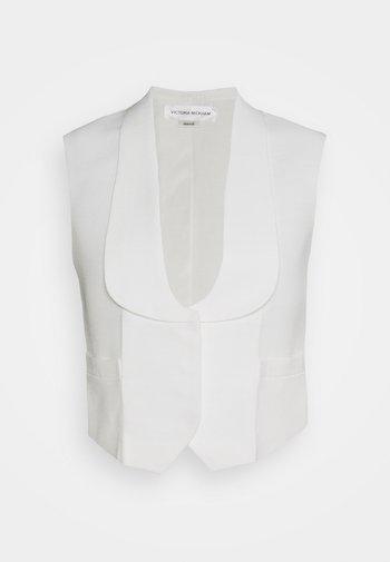 TUXEDO WAISTCOAT - Vesta - white