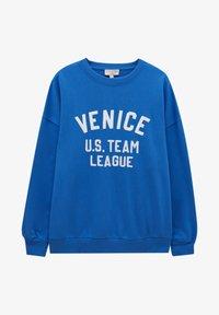 PULL&BEAR - Sweatshirt - blue - 5