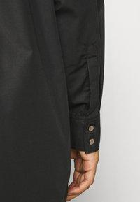 Kaffe Curve - CLONE SHIRT - Button-down blouse - black deep - 5