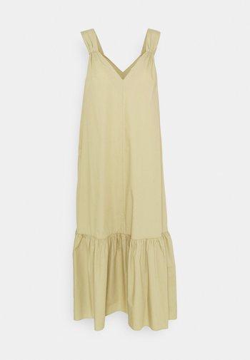 ILKA - Denní šaty - green bark