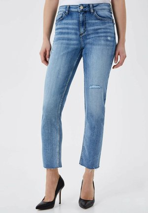 SLIM FIT - Slim fit jeans - blue denim