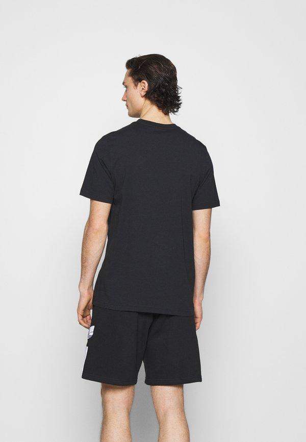 adidas Originals ESSENTIAL TEE - T-shirt basic - black/czarny Odzież Męska MTLC