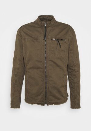 FORREST - Denim jacket - khaki