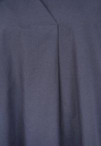 Frogbox - AUS POPELINE - Korte jurk - blue - 4