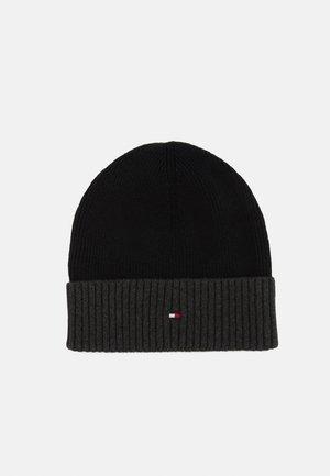 PIMA BEANIE UNISEX - Bonnet - black