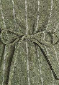 Supermom - DRESS STRIPE - Jersey dress - dusty olive - 2