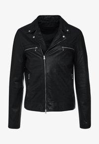 AllSaints - HALE BIKER - Veste en cuir - black - 4