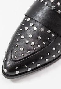 Copenhagen Shoes - Nazouvací boty - black - 2