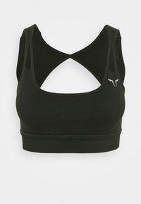 EVOLVE META SPORTS BRA - Medium support sports bra - khaki