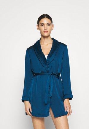 ALASKA DESHABILLE CHAUD - Dressing gown - bleu petrole