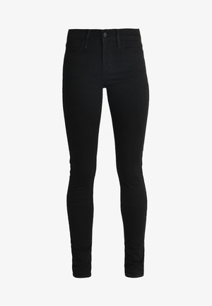 710 SUPER SKINNY - Jeansy Skinny Fit - black galaxy