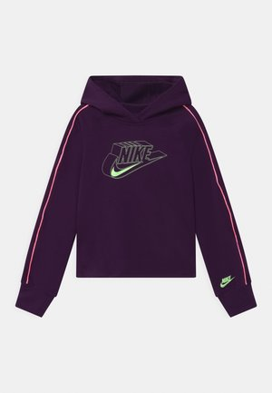 HOODIE - Mikina s kapucí - grand purple/sunset pulse/vapor green