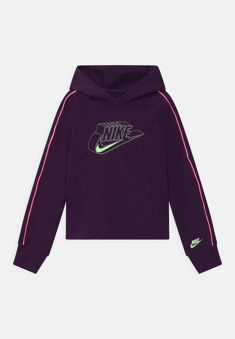 Nike Sportswear - HOODIE - Hoodie - grand purple/sunset pulse/vapor green