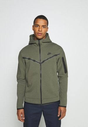 HOODIE  - Kardigan - twilight marsh/black