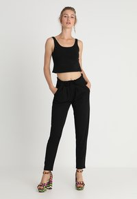JDY - JDYCATIA PANTS - Bukse - black - 1