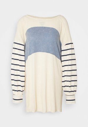 AWESOME TEE - Long sleeved top - ivory