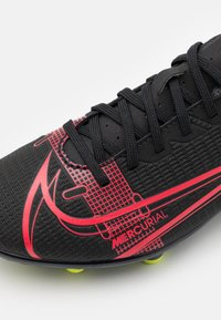Nike Performance - MERCURIAL JR VAPOR 14 CLUB FG/MG UNISEX - Moulded stud football boots - black/cyber - 5