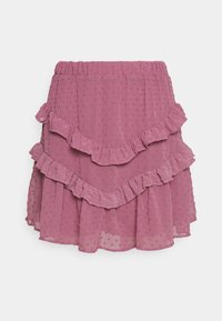 Trendyol - SIYAH - A-line skirt - lila - 3