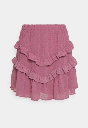 SIYAH - A-line skirt - lila