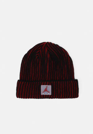 AIR PATCH TWO TONE BEANIE - Čepice - gym red/black