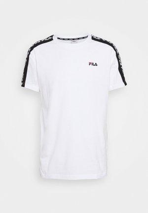 THANOS - T-shirt print - bright white/black