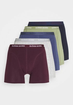 SHORTS SAMMY SEASONAL SOLIDS 5 PACK - Pants - oil green