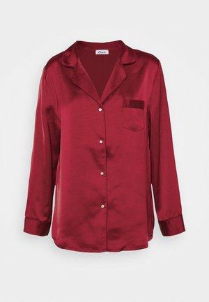 CATWALK CHEMISE - Pyjamashirt - rouge