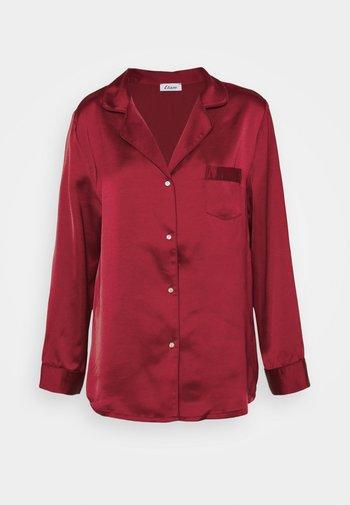 CATWALK CHEMISE - Pyjama top - rouge