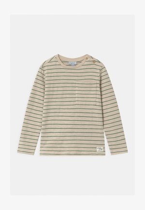 STRIPES  - Long sleeved top - sandshell