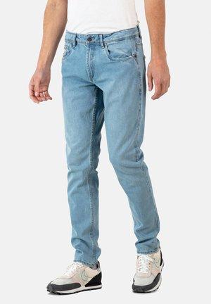 SPIDER - Slim fit jeans - light blue grey wash